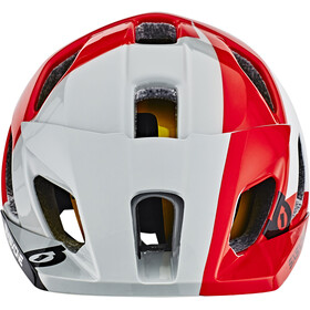 SixSixOne EVO AM MIPS Cykelhjelm, white/red/grey